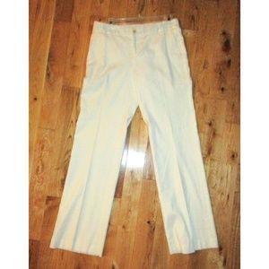 BANANA REPUBLIC WHITE LINEN PANTS 4